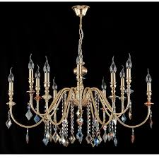 Купить <b>Люстра Crystal Lux MERCEDES</b> SP6+6 GOLD/COLOR по ...