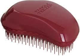 <b>Tangle Teezer Thick</b> and Curly Detangling Hairbrush Dark Red, 1 ...