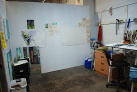 the studio spaces are similar to the cubicle style 8ft high walls similar to those in the kcai painting building these spaces are perfect for emerging artists studio lighting