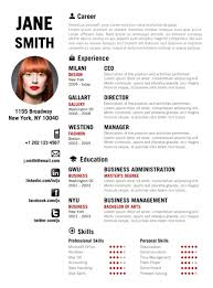 ideas about creative cv template on pinterest   creative cv    find the red creative resume template on   cvfolio com