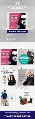 best instagram ad templates for 2016 instagram ads shopping banners