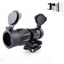 Hot Sale Tactical 3X Magnifier Scope <b>Airsoft Hunting Shooting</b> ...