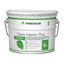 <b>Краска</b> для ванной и кухни акриловая матовая <b>Finncolor Oasis</b> ...