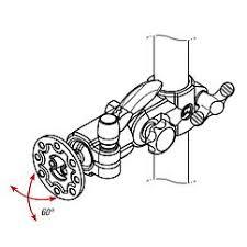 Крепление для монитора с шаровым шарниром - KIPP