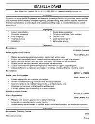 Aaaaeroincus Glamorous Best Bookkeeper Resume Example Livecareer With Nice More Bookkeeper Resume Examples And Unusual Billing Clerk Resume Also Resume