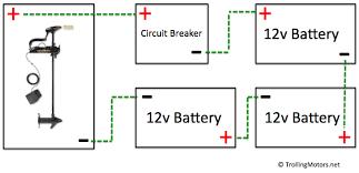 24 and 36 volt wiring diagrams trollingmotors net 36 volt wiring diagram