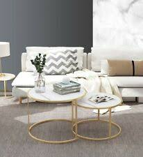 <b>Marble Round Coffee Table</b> Tables for sale | Shop with Afterpay | eBay