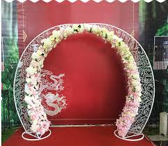 <b>New style wedding</b> props iron arched door sen outdoor <b>wedding</b> ...