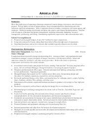 interior design resume info career objectives for interior design resume