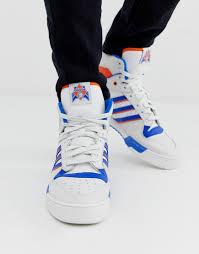 Белые <b>высокие</b> кроссовки <b>adidas Originals</b> rivalry - Белый от 7290 ...