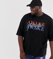 Oversize-<b>футболка</b> с надписью и вышивкой ASOS DESIGN Plus ...