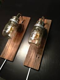 rustic wall mounted lighting rustic bedside lamps made with reclaimed barn wood industrial bedside lighting wall mounted