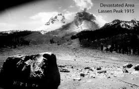 「1915 lassen peak volcanic eruption」の画像検索結果