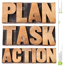plan task action word in woot type royalty stock photos plan task action word in woot type