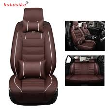 <b>kalaisike high quality leather</b> universal car seat covers for Ford ...