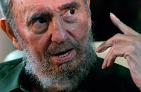 fidel castro s message to america on his th birthday you owe us in this photo released by the state media debate web site s leader fidel castro