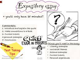 showme expository essay