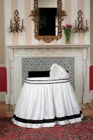 furniture classic baby bassinets inspiration presenting white baby crib skirt with black line accent and adorable nursery furniture white accents