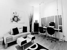 black and white office decor decorating ideas with resolution 1600x1200 black and white office