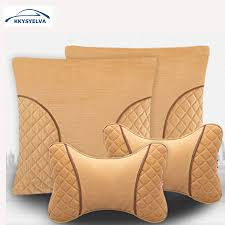 <b>KKYSYELVA Car</b> Neck Pillow <b>Car</b> Lumbar <b>Support</b> for Office <b>Chair</b> ...