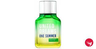 <b>United Dreams One</b> Summer <b>Benetton</b> cologne - a fragrance for ...