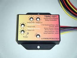 Lingenfelter TBRC-001 <b>Temperature</b> Based <b>Relay Controller</b>