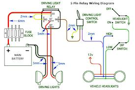 5 pin relay wiring diagram 5 wiring diagrams wiring diagram standard 5pin
