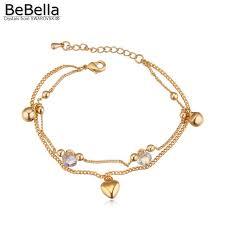 Женский трендовый <b>браслет</b> BeBella, <b>позолоченный браслет</b> ...