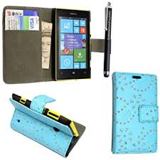 !!! NOKIA LUMIA 520 VARIOUS DESIGN <b>FLIP CASE PU LEATHER</b> ...