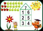 Состав чисел в раскрасках
