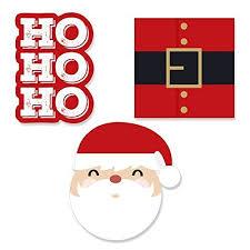 Big Dot of Happiness Jolly <b>Santa Claus</b> - DIY Shaped <b>Christmas</b> ...