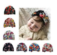 2019 <b>Baby Hats</b> Kids Floral India <b>Hats</b> Girls <b>Fashion Bowknot</b> ...