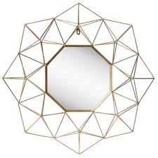 geometric baseboard mirror wall sticker waist line 3d acrylic diy home decoration mural autocollant 10pcs 10 10cm