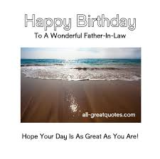 Birthday Wishes For Father-In-Law via Relatably.com