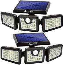 Solar Lights Outdoor, AmeriTop 128 LED 800LM ... - Amazon.com