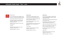 mcdonalds resume resume sample template mcdonalds cashier resume mcdonald s radio script dian order delcie 39 s portfolio