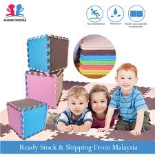 Baby Playmat Foam Play Mat Floor Mat Puzzle Carpet <b>EVA Mosaic</b> ...
