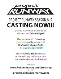 nv boutique blog project runway season 8 now casting project runway season 8 now casting
