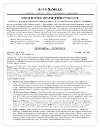 analyst resume business analyst resume