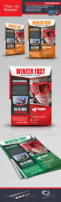 winter adventure flyer template by grafilker graphicriver winter adventure flyer template corporate flyers