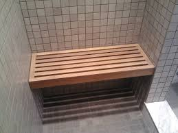 image quarter bamboo bathroom stool ideas for make a cedar shower bench u roman degare houses