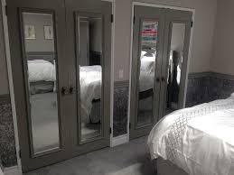 bedroom winsome closet: image of mirror bifold closet doors design