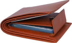 SAMTROH <b>Men Casual</b>, Trendy Tan Artificial <b>Leather</b> Wallet TAN ...