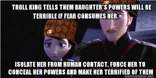 Frozen Meme - My thoughts exactly! Haha. Explanation on page of ... via Relatably.com
