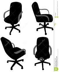 office chair silhouettes brilliant office table top stock photos images