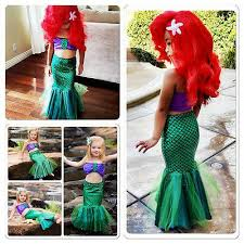 US <b>Baby Girls Princess Ariel</b> Dress The Little Mermaid Princess ...