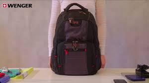 Городской <b>рюкзак</b> Pillar <b>WENGER</b> 600633 - YouTube