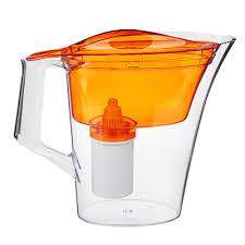 """Кувшин-<b>фильтр для воды</b> 2,5 л """"ГАЛА"""" оранжевый, пластик ..."""