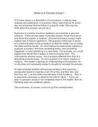 process analysis essay outline   essay exampleprocess analysis essay sample  smlf