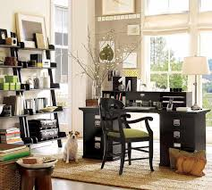 chic rectangle shape mounted white table and combine with level adorable design ideas of cute office home black wooden drawers chic shaped home office